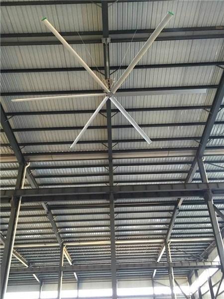 山东6.7米无刷直流吊扇,仓库降温风扇直流无刷吊扇大直径吊扇 客户至上 上海爱朴环保科技供应