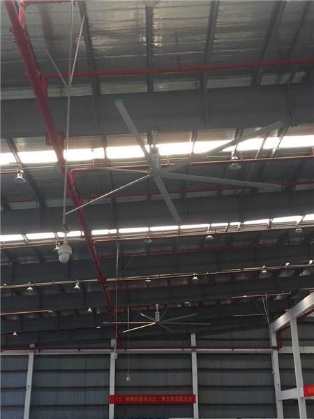 广东8.6米工业大型风扇直流无刷吊扇节能环保 来电咨询 上海爱朴环保科技供应