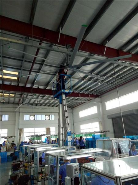 湖南6米直径直流大风扇厂家报价 贴心服务 上海爱朴环保科技供应