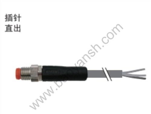 山西正規M8圓形連接器銷售廠家 值得信賴 上海寶巖電氣系統供應