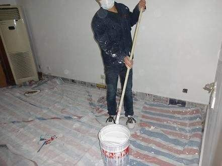 泰兴围墙涂料粉刷施工「江苏拓者保洁服务供应」