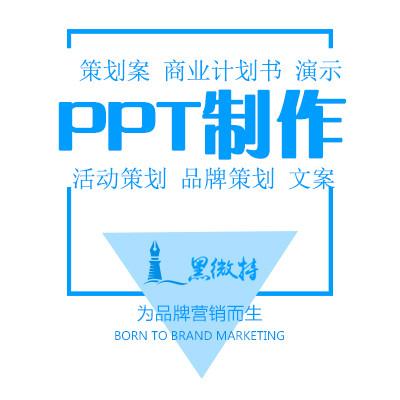 商业计划书PPT制作-PPT设计