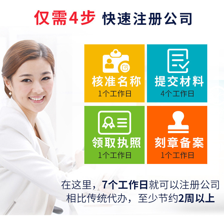 公司注册代理记账营业执照代办工商注销变更