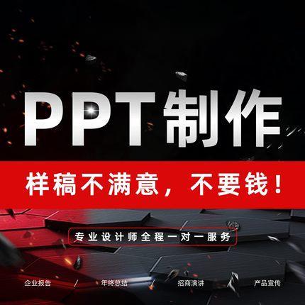 PPT制作代做课件美化简介策划招商视频剪
