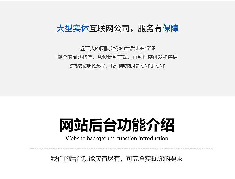 企业模板网站制作/公司官网快速建站/网站建设/网页设计