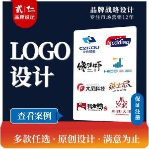 公司logo企业图文字体英文原创餐饮卡通Logo设计可注册