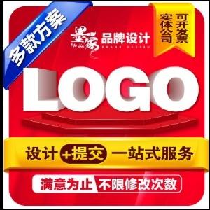 商标设计logo标志公司图文企业餐饮卡通LOGO设计可注册