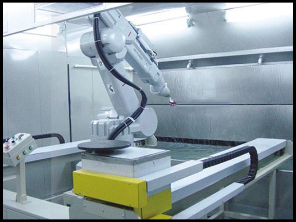 热喷涂机器人自动化 贴心服务 常州捷迈特表面工程技术供应