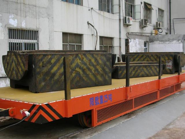 轨道式电动平板车生产厂 欢迎咨询 杭州宏久电动车辆供应