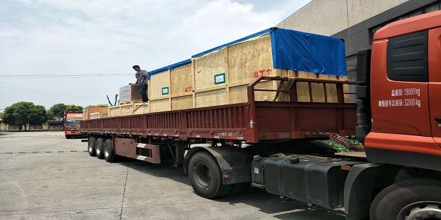 安徽物流分拨上海大件物流运输价格费用清单 新东福供