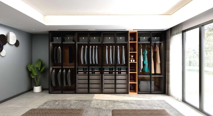 金山整套衣柜定制 服務為先 落銳家具供應