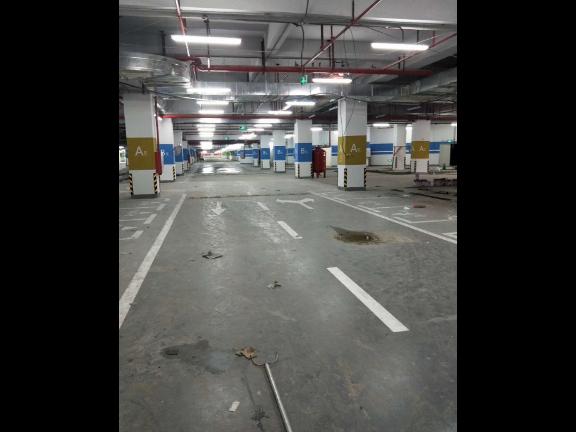 梅州地下停车场画线公司 抱诚守真 深圳市创路顺交通设施供应