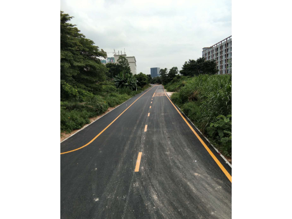 潮州停车场画线报价 诚信服务 深圳市创路顺交通设施供应
