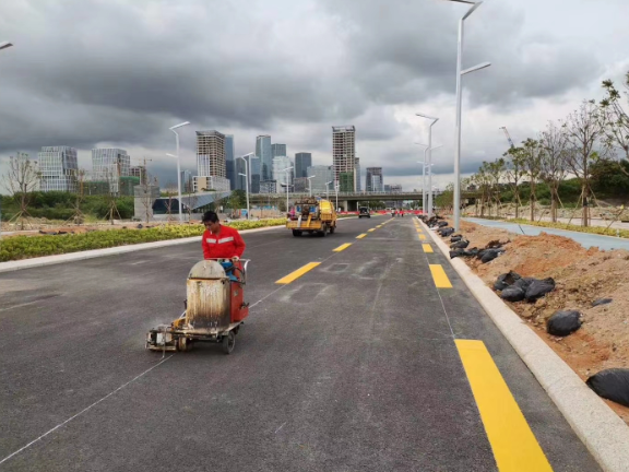 潮州城市道路画线公司哪家好 创造辉煌 深圳市创路顺交通设施供应