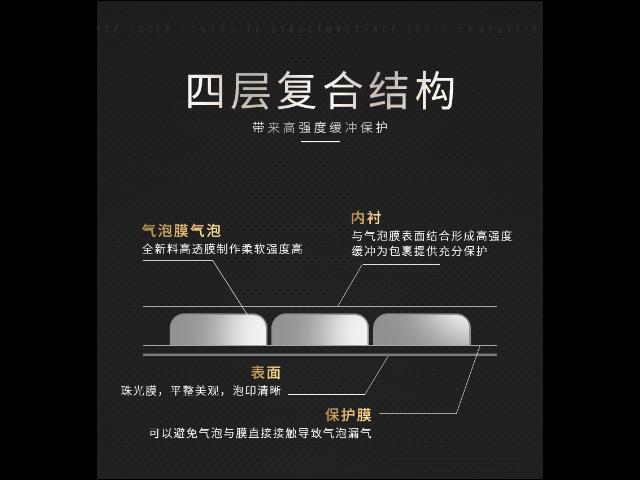 浙江标准气泡袋价格比较「金华市德鸿凯包装材料供应」