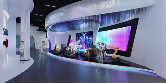 广东文化公司展厅 抱诚守真「店掂智能科技供应」