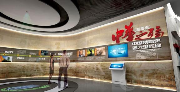 广州会议展厅设计,党政展厅