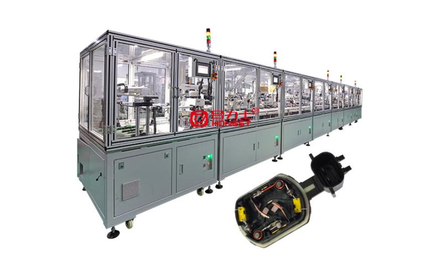 微特马达生产线 电机设备 深圳市合力士机电设备供应