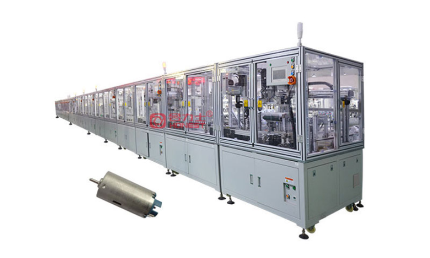 馬達膠蓋組裝線 電機設備 深圳市合力士機電設備供應