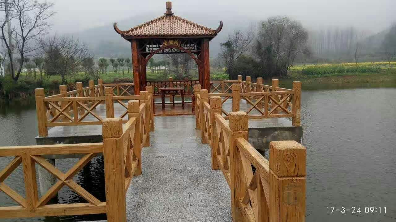 河北仿竹栏杆 有口皆碑 宁波俊辉园林景观工程供应