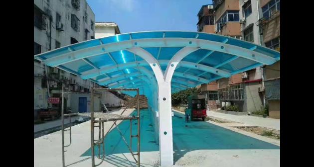 抚州钢结构雨棚生产厂家 钢结构雨棚 南昌邱泽工程物资供应
