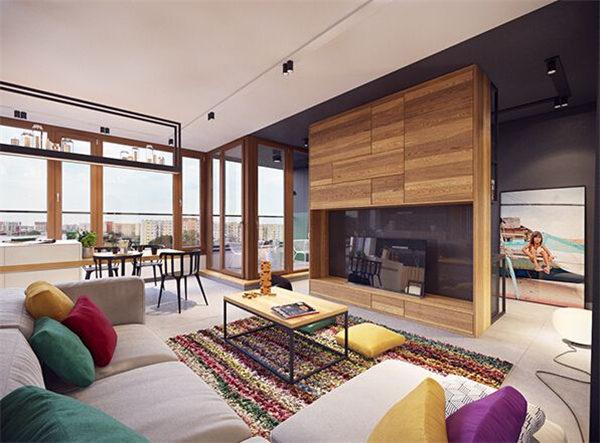 华美达大厦公寓两室一厅,公寓