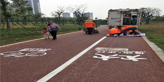 宁夏环保的路面标线安装多少钱 和谐共赢 青海盛康建筑供应