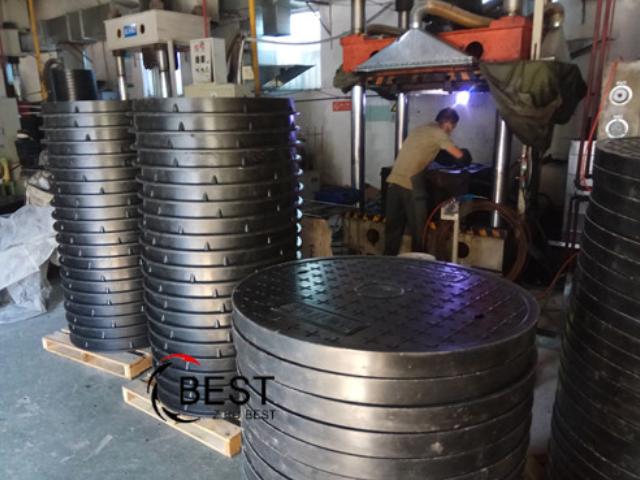 吉林复合材料SMC树脂井盖样式定制「淄博拜斯特复合井盖供应」