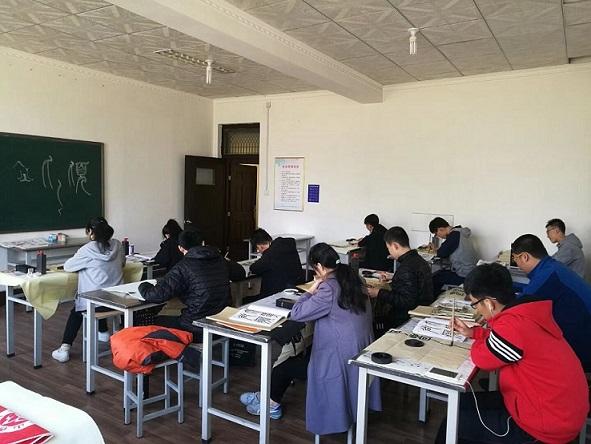 淄博中学速成书法哪家好,书法