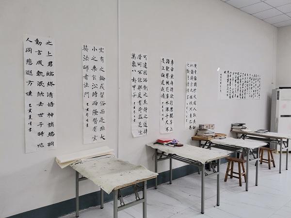 万象汇软笔书法培训学校,书法