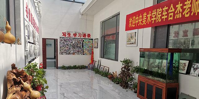 淄博十一中联考画室培训学校,画室