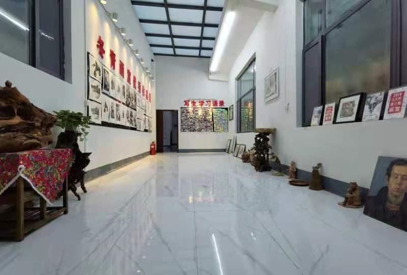 张店剑桥实验学校中考画室培训学校,画室