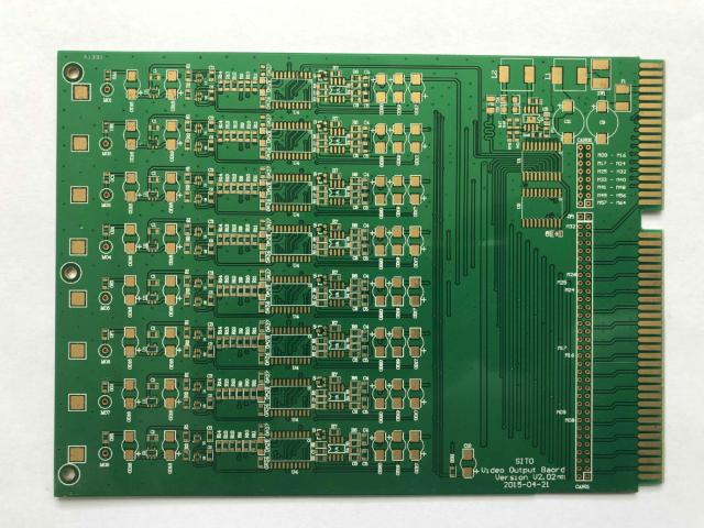 大规模双面电路板维修