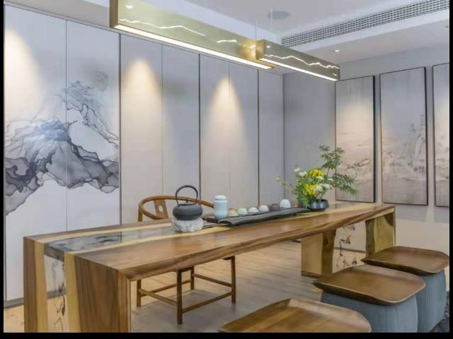 苏州商场竹木纤维板室内装饰,室内装饰