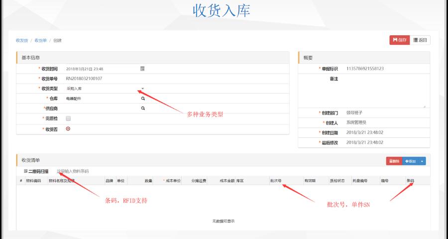 宿迁WMS管理控制系统功能 信息推荐 上海申扬计算机科技供应