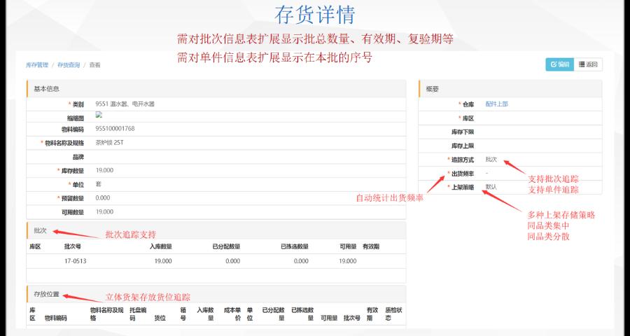 連云港WMS管理控制系統 上海申揚計算機科技供應