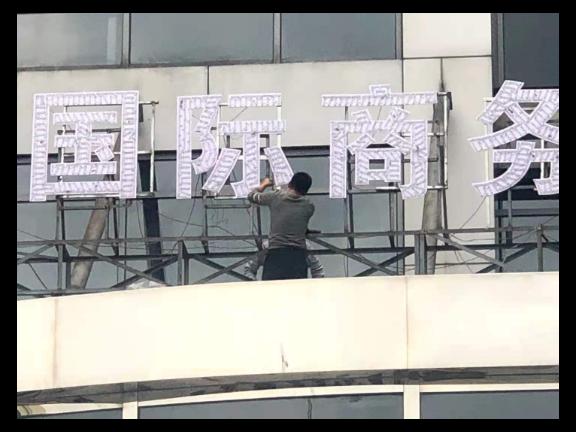 奉賢區吸塑發光字哪家好「上海文導廣告供應」