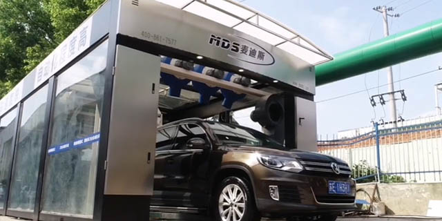 北京购买全自动洗车设备3到6万视频 太仓麦迪斯供应