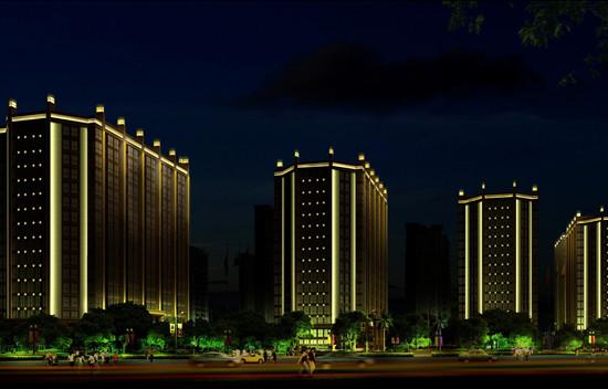 夜景燈光亮化維修 誠信服務「溫州乾成廣告供應」
