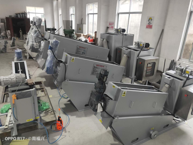 江西污泥脱水机压滤机叠螺机生产厂家 推荐咨询 无锡哈达环保供应