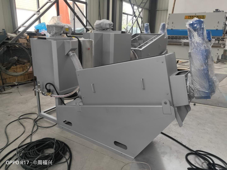 无锡全自动叠螺污泥脱水机生产厂家 欢迎咨询 无锡哈达**供应