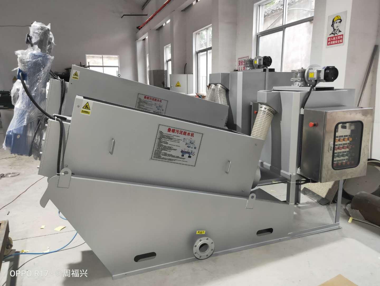 安徽治污工程专用叠螺机厂家直销 欢迎咨询 无锡哈达环保供应
