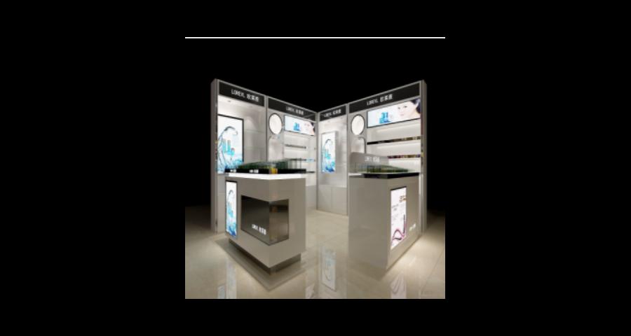 舟山化妆品展柜定制多少钱 客户至上 中山市献美展示制品供应
