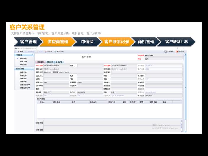 天津外贸软件平台 诚信经营「上海艾诺科软件供应」