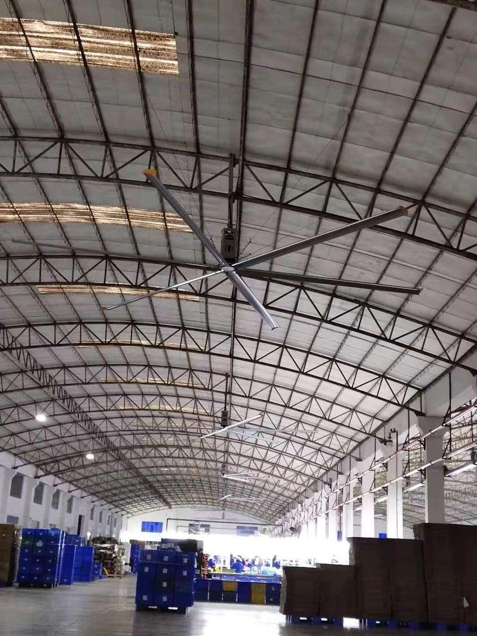 河南5米直径工业大吊扇 诚信为本 上海爱朴环保科技供应