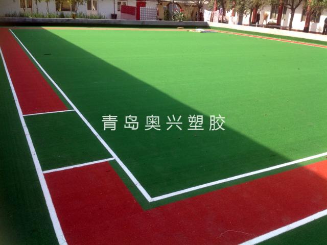 東營門球場人造草坪鋪裝