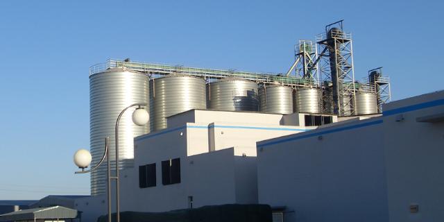 金山区品质石仓行价「 安阳福莱尔钢板仓工程供应」
