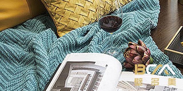 浙江刺绣无缝壁布/墙布供应 贴心服务「杭州壁多美墙布供应」
