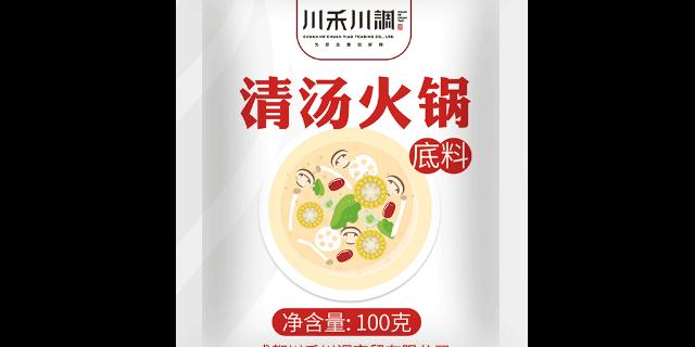 剑阁县香辣火锅底料批发 成都川禾川调商贸供应