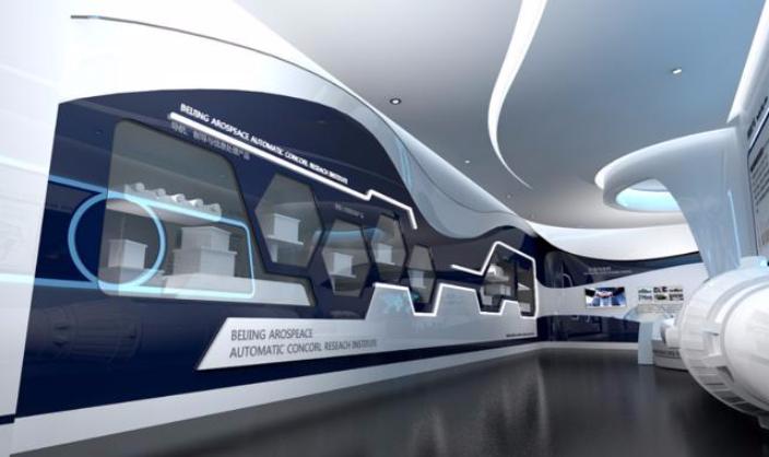 新能源展廳展館設計裝修哪家好 成都漢諾會展服務供應;